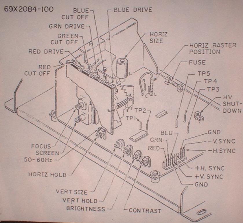 wiring diagram for arcade machine